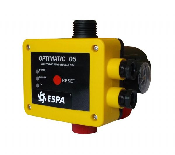 Espa Optimatic 05 Automatic Controller - Adjustable Starting Pressure - Discontinued.